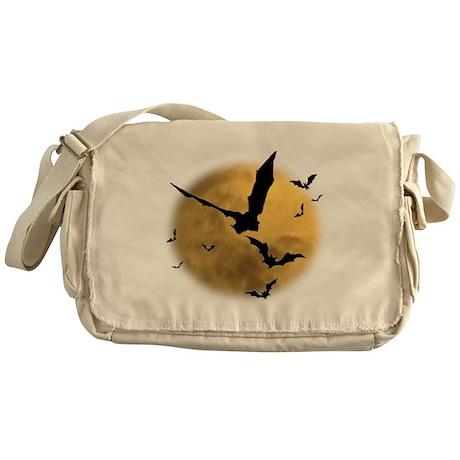 Bats in the Evening Messenger Bag