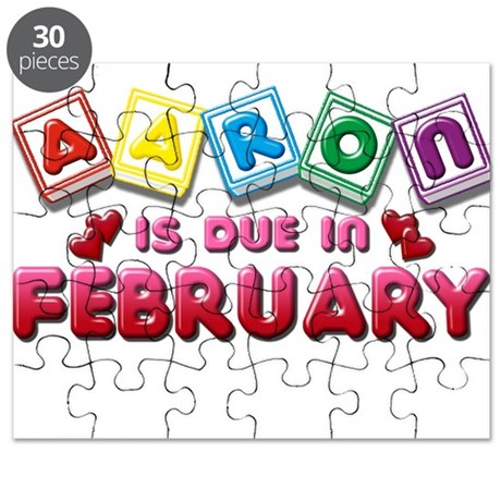 Aaron is Due in February Puzzle