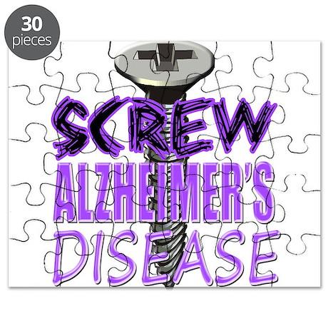 Screw Alzheimer's Disease Puzzle