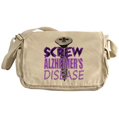 Screw Alzheimer's Disease Messenger Bag