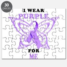 I Wear Purple for Me Puzzle
