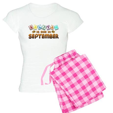 Aaliyah is Due in September Women's Light Pajamas