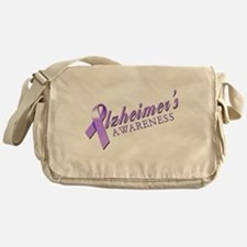 Alzheimer's Awareness Messenger Bag