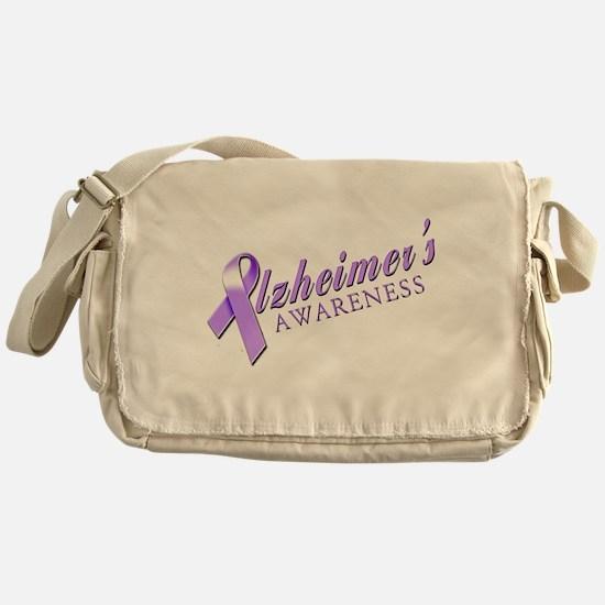 Alzheimer's Awareness Messenger Bag
