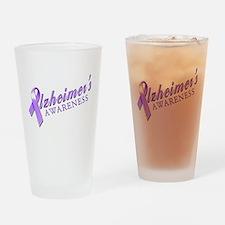 Alzheimer's Awareness Drinking Glass