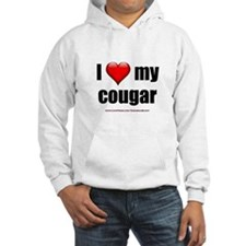 """I Love My Cougar"" Jumper Hoody"