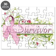 Survivor Floral Puzzle