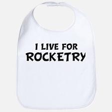 Live For ROCKETRY Bib