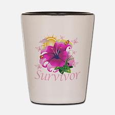 Survivor Flower Shot Glass