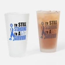 Still Standing I'm A Survivor Drinking Glass