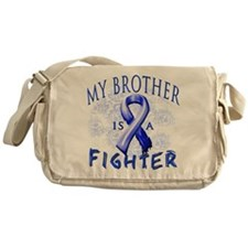 My Brother Is A Fighter Messenger Bag