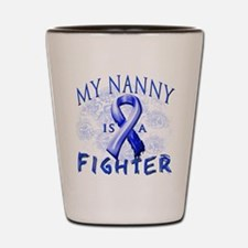 My Nanny Is A Fighter Shot Glass