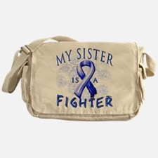 My Sister Is A Fighter Messenger Bag