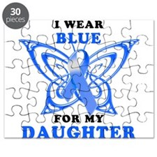 I Wear Blue for my Daughter Puzzle