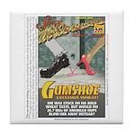 Gumshoe Wheat Beer Tile Coaster
