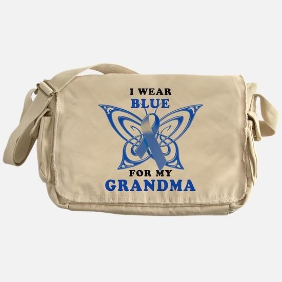 I Wear Blue for my Grandma Messenger Bag