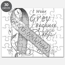 I Wear Grey, I Love My Great Puzzle