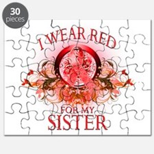 I Wear Red For My Sister (flo Puzzle