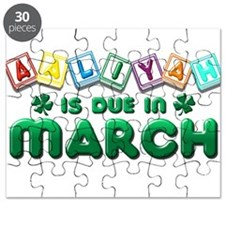Aaliyah is Due in March Puzzle