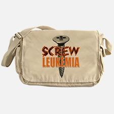 Screw Leukemia Messenger Bag
