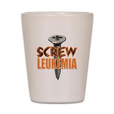 Screw Leukemia Shot Glass