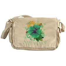 Survivor Flower Messenger Bag