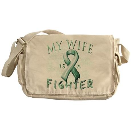 My Wife Is A Fighter Messenger Bag