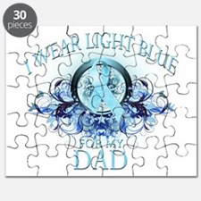 I Wear Light Blue for my Dad Puzzle
