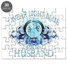 I Wear Light Blue for my Husb Puzzle