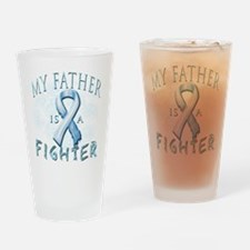 My Father Is A Fighter Drinking Glass