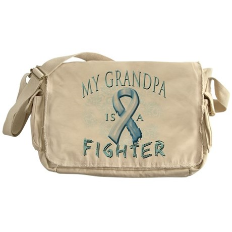 My Grandpa Is A Fighter Messenger Bag