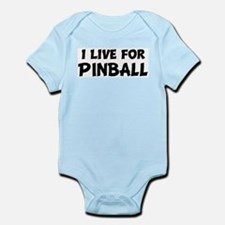 Live For PINBALL Infant Creeper