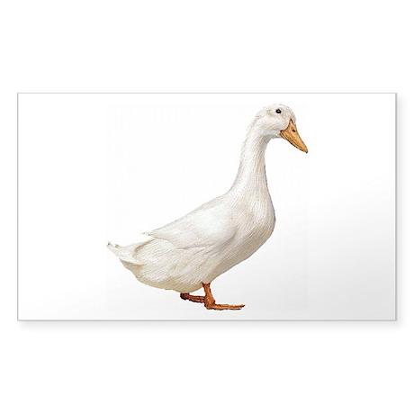 Duck Sticker (Rectangle)