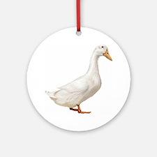 Duck Ornament (Round)