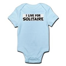 Live For SOLITAIRE Infant Creeper