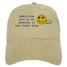 Admitting You're an Asshole Baseball Cap