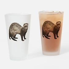Ferret Drinking Glass