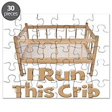 I Run This Crib Puzzle