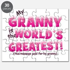World's Greatest Granny (pink Puzzle