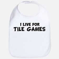 Live For TILE GAMES Bib