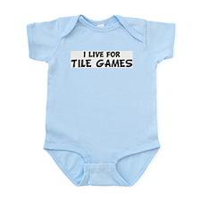 Live For TILE GAMES Infant Creeper