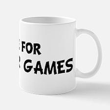 Live For PARLOUR GAMES Mug