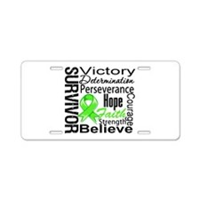 Non-Hodgkins Survivor Aluminum License Plate