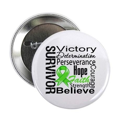 "Non-Hodgkins Survivor 2.25"" Button (100 pack)"
