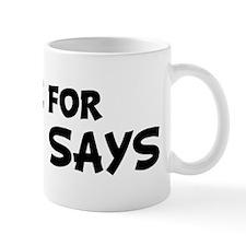 Live For SIMON SAYS Mug