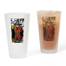 Halloween Witch Drinking Glass