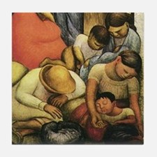 Diego Rivera Night of the Poor Art Tile Set (2/2)