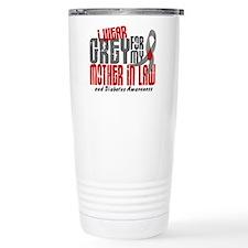 I Wear Grey 6 Diabetes Travel Mug