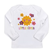 Sunny Little Sister Long Sleeve Infant T-Shirt