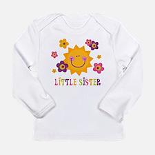 Sunny Little Sister Long Sleeve Infant T-Shirt